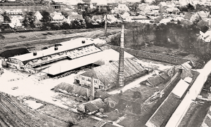 Старый завод в Цетеле. Фотография 19 века