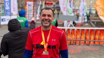 Компания Roben приняла участие в марафоне